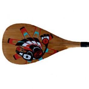 Boardworks - Raven Carbon 2pc SUP Paddle - Wood Veneer