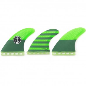 Captain Fin CF Medium Futures Tri Fin Set
