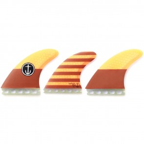 Captain Fin CF Large Futures Tri Fin Set