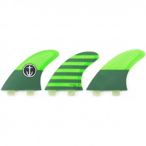 Captain Fin CF Medium FCS Tri Fin Set