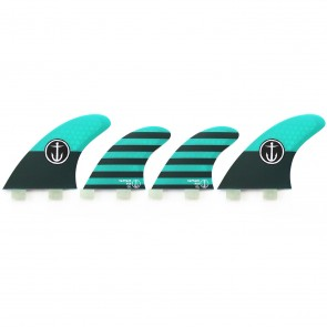 Captain Fin CF Medium FCS Quad Fin Set