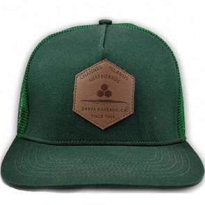 Channel Islands Hex Ranch Trucker Hat - Forest Green