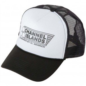 Channel Islands Flag Trucker Hat - Black