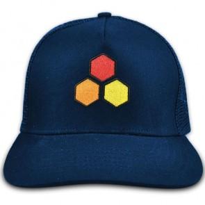 Channel Islands Curren Hex Twill Trucker Hat - Navy