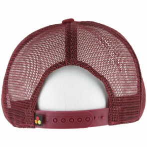 Channel Islands Cali Hex Trucker Hat - Burgundy