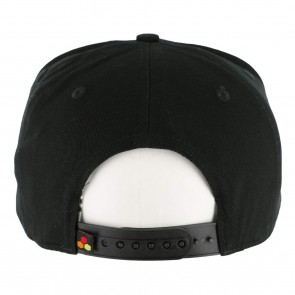 Channel Islands Hex Snapback Hat - Black