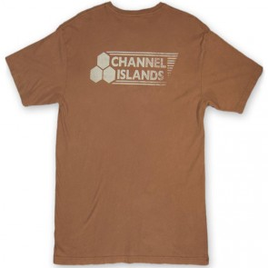Channel Islands Stamped Flag T-Shirt - Rust Washed