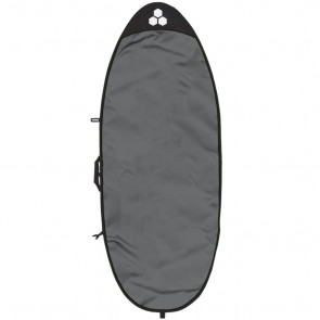 Channel Islands Feather Lite Specialty Surfboard Bag - Charcoal/White