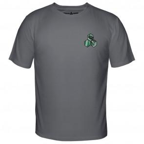 Channel Islands Salmon Hex T-Shirt - Heavy Metal