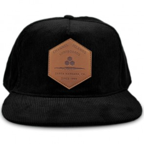 Channel Islands Ranch Hex Cord Hat - Black