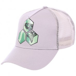 Channel Islands Salmon Hex Trucker Hat - Grey