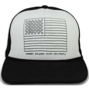 Channel Islands Almerica Trucker Hat - White/Black