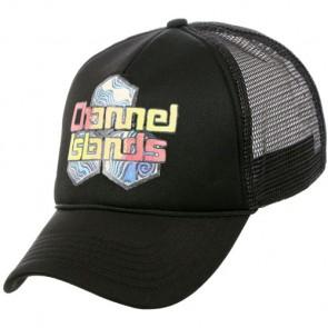 Channel Islands Water Colors Trucker Hat - Black