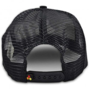 Channel Islands Curren Hex Twill Trucker Hat - Black