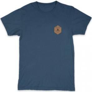 Channel Islands Ranch Hex T-Shirt - Indigo