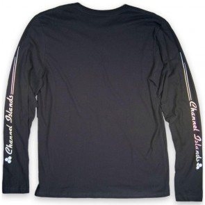 Channel Islands Rail Sleeve Long Sleeve T-Shirt - Black Washed