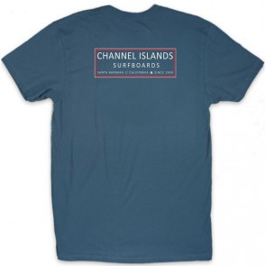 Channel Islands Mr. Clean T-Shirt - Indigo