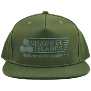 Channel Islands Flag Hat - Military Green