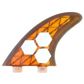Channel Islands Fins - Tech 3 Large - Orange/Carbon