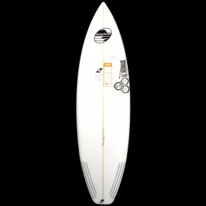 "Channel Islands Surfboards 5'11"" Black & White Surfboard"