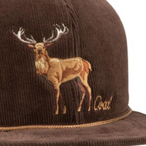 Coal Wilderness SP Hat - Brown/Stag