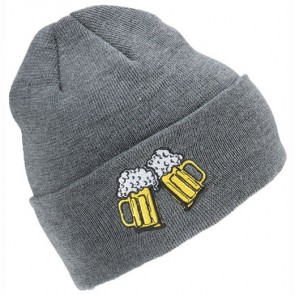 Coal Crave Beanie - Charcoal/Beer