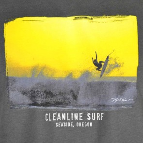 Cleanline Flyer T-Shirt - Heavy Metal