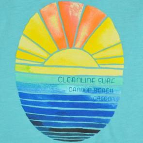 Cleanline Women's Golden Horizon Seaside Tank - Tahiti Blue