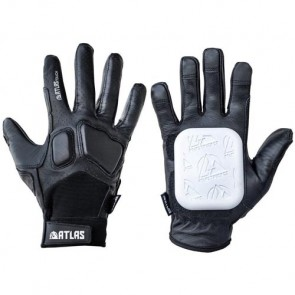 Atlas Truck Co. Touch Slide Gloves - Black/White