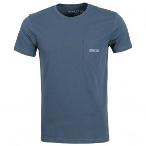 Depactus Warning T-Shirt - Midnight Navy