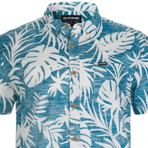 Dakine Poipu Short Sleeve Shirt - Glacier Grey