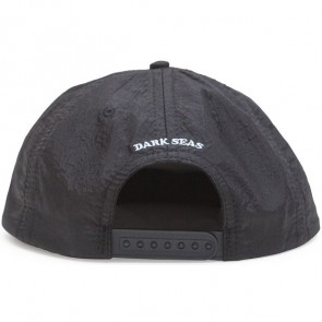 Dark Seas Gooseneck Hat - Black