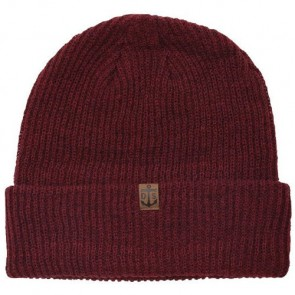 Dark Seas Knightshead Beanie - Brick Red