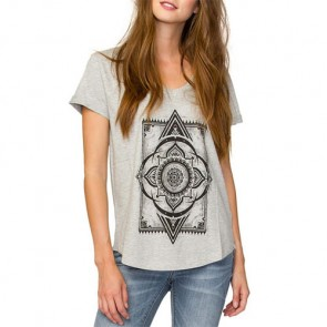 Element Women's Morracan Rug Top - Heather Grey