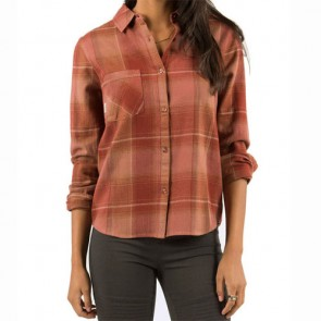 Element Women's Gutter Flannel - Brick