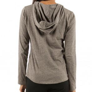 Element Women's City Life Hooded Top - Heather Grey