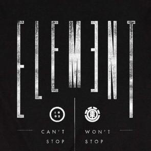 Element Align T-Shirt - Black