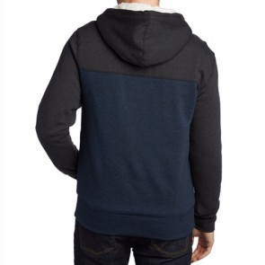 Element Zenith Sherpa Zip Hoodie - Dark Charcoal