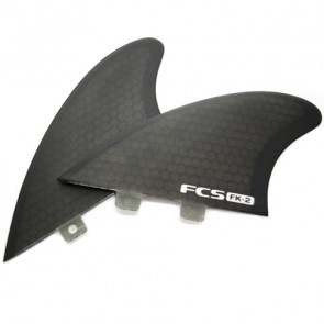 FCS Fins FK-2 Twin Fin Set