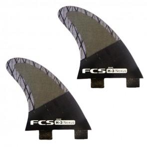 FCS Fins H3 Quad Rears Fin Set