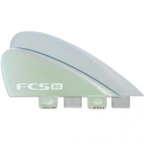 FCS Fins B5 Bonzer Quad Fin Set