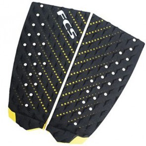 FCS Essential Series T2 Traction - Black/Yellow