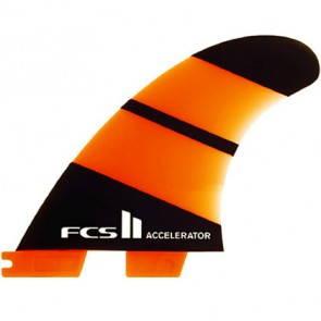FCS II Fins Accelerator Neo Glass Small Tri Fin Set