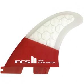 FCS II Fins Accelerator PC Grom Tri Fin Set