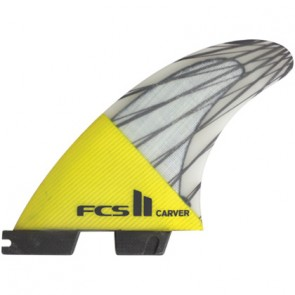 FCS II Fins Carver PC Carbon Medium Tri Fin Set