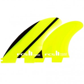FCS II Fins Carver Neo Glass Medium Tri-Quad Fin Set