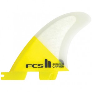 FCS II Fins Carver PC Medium Quad Rears Fin Set