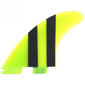 FCS II Fins Carver Limited Edition PG Medium - Lime/Black