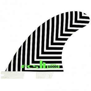 FCS II Fins Goods PG - Black/White