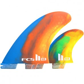 FCS II Fins MR PC Twin Fin Set